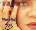 West End feat Sybil - The Love I Lost - Chart: No.3