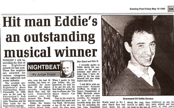 EG Outstanding Music Man 1990.