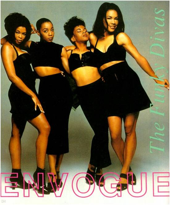 En Vogue - Hold On - chart: No.5 in the UK and No.1 in the USA